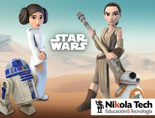 Programación para niños con STARS WARS
