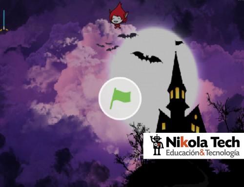 Programas de nuestros alumnos por Halloween.