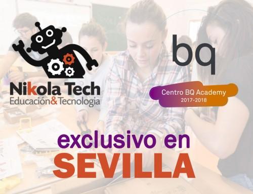 Somos el Centro Autorizado BQ Academy en Sevilla