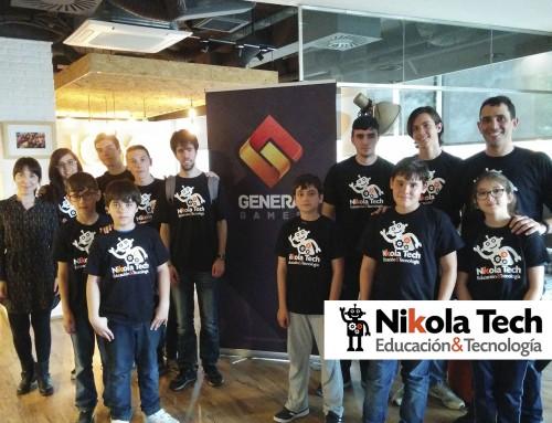 Visita de alumnos a Genera Games.