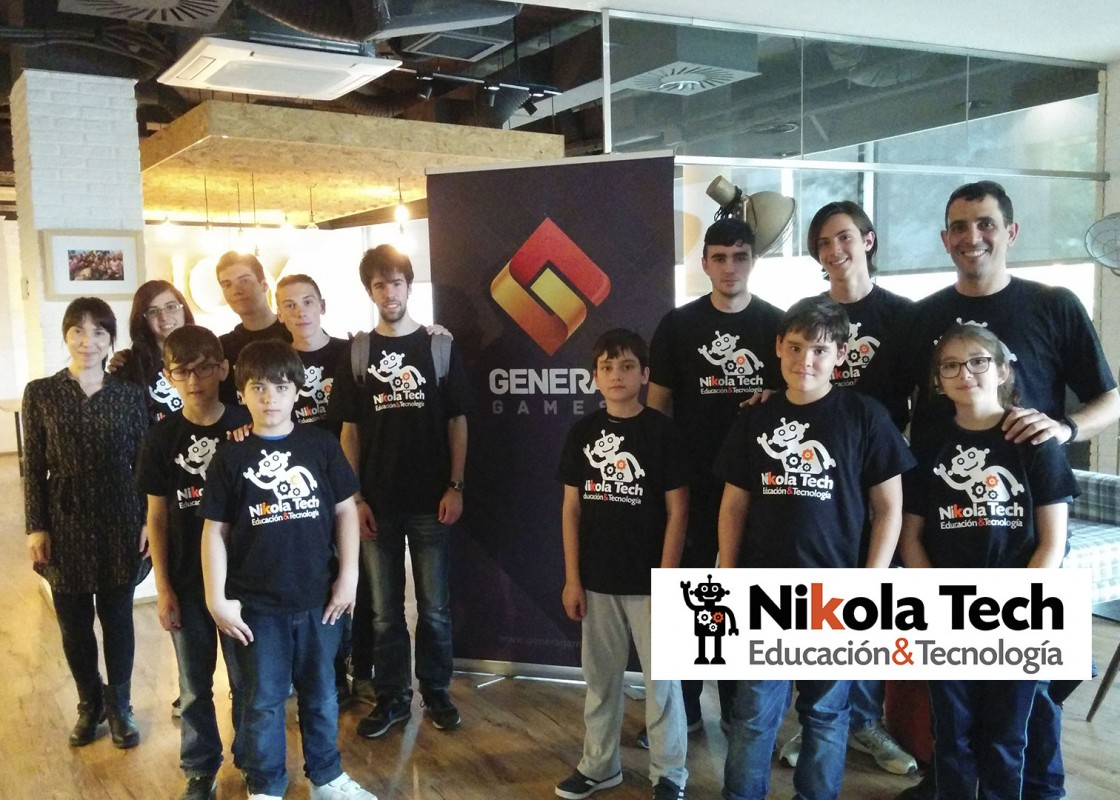 Visita Nikola Tech a Genera Games